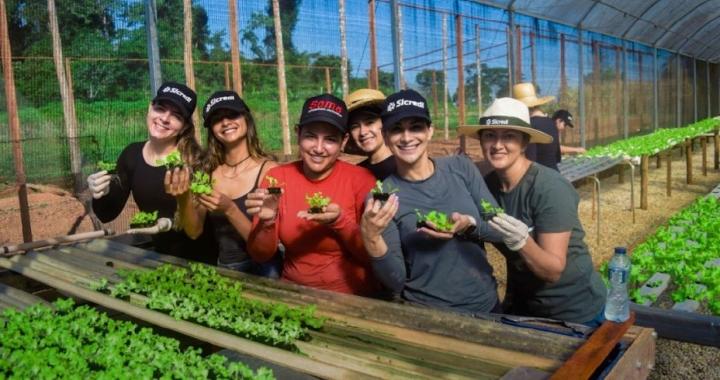Horta Humanitária: Sicredi é parceiro do IFMT e CRAS em iniciativa que beneficia famílias durante a pandemia de COVID-19